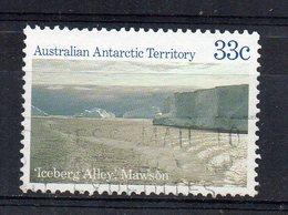 TERRITOIRE ANTARCTIQUE AUSTRALIEN - AUSTRALIAN ANTARCTIC TERRITORIES - 1984 - ICEBERG ALLEY MAWSON - Oblitéré - Used - - Territoire Antarctique Australien (AAT)