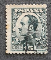 N° 406 - 1889-1931 Kingdom: Alphonse XIII