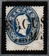 AUTRICHE 1861: Le 15 Kr. Bleu (Y&T 21), Oblitéré - 1850-1918 Empire