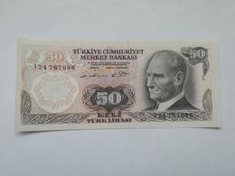 TURCHIA 50 LIRASI 1970 - Turquie