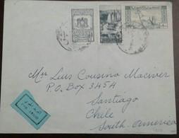 O) 1949 CIRCA-SYRIA -TURKEY-MEDITERRANEAN SEA, TEL CHEHAB WATERFALL SC 352 5p -ARAB HORSE SC 326 100p,NATIONAL EMBLEM -C - Syrië