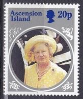 Ascension 1985 Geschichte Persönlichkeiten Königshäuser Royals Königinmutter Elisabeth Queen, Mi. 379 ** - Ascension