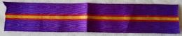Cinta De Medalla De Los Somatenes. XX Aniversario. Rey Alfonso XIII. 1924. España. Réplica - Militares