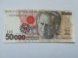 BRASILE 50000 CRUZEIROS 1992 - Brasile