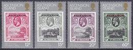 Ascension 1984 Geschichte History Kolonie Colony St. Helena Briefmarken Stamps, Mi. 354-7 ** - Ascension