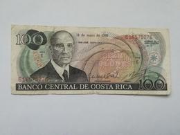 COSTA RICA 100 COLONES 1982 - Costa Rica