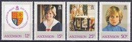 Ascension 1982 Geschichte Persönlichkeiten Königshäuser Royals Geburtstag Prinzessin Diana, Mi. 322-5 ** - Ascension