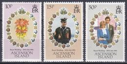 Ascension 1981 Geschichte Persönlichkeiten Königshäuser Royals Hochzeit Prinz Charles Diana Spencer, Mi. 299-1 ** - Ascension