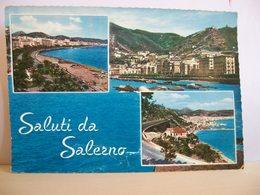 1963 - Saluti Da Salerno - Vedute - Lungomare Viadotto - Souvenir De...