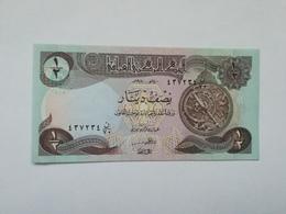 IRAQ 1|2 DIINAR 1993 - Iraq
