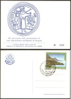 1992 Manifestazione Filatelica Terntino Pro San Francesco As Assisi - Eventi