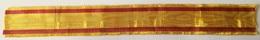 Cinta De Medalla Miniatura Rey Alfonso XII. Guerras Carlistas. 1875. España. Réplica - Militares