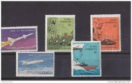 Cuba Nº 950 Al 954 - Cuba