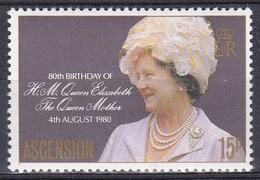 Ascension 1980 Geschichte Persönlichkeiten Königshäuser Royals Geburtstag Königinmutter Elisabeth, Mi. 263 ** - Ascension