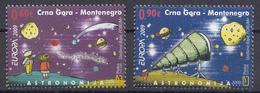 Montenegro 2009 Europa CEPT, Space, Astronomy, Set MNH - Montenegro