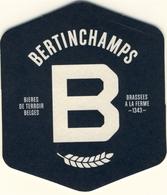 SOUS BOCK BIERDECKEL COASTER, BIERVILTJE, Carton  BERTINCHAMPS Artisanale Bières De Terroirs Belges - Sous-bocks