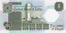 LIBYA P. 55 5 D 1991 UNC - Libië
