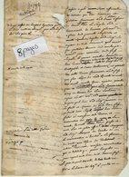 VP14.166 - Haute - Savoie - Ancien Historique Du Fief De TANINGES - Manuscripts