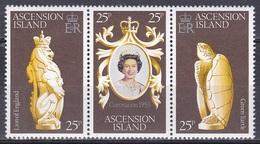 Ascension 1978 Geschichte Persönlichkeiten Königshäuser Royals Krönung Königin Elisabeth II. Queen, Mi. 229-1 ** - Ascension
