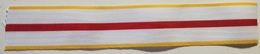 Cinta De Medalla Cruz Mérito Militar Distintivo Amarillo. Ejército De Tierra. España. Original - Militares