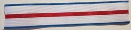 Cinta De Medalla Cruz Mérito Militar Distintivo Azul. Ejército De Tierra. España. Original - Sin Clasificación