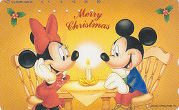 Télécarte Japon / 110-193364 - DISNEY - Série NOEL 18/25 - CHRISTMAS JAPAN Phonecard - Disney