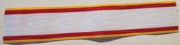 Cinta De Medalla Cruz Mérito Aeronáutico Distintivo Amarillo. Ejército Del Aire. España. Original - Militares