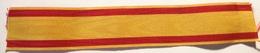 Cinta De Medalla Cruz Mérito Naval Distintivo Amarillo. Armada. España. Original. - Militares