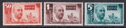 SAHARA 1951 - General Franco Serie Nueva Sin Fijasellos Edifil Nº 88/90 - MNH - - Sahara Español