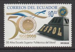 2008 Ecuador Polytechnic School Education Complete Set Of 1  MNH - Ecuador