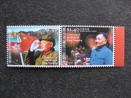 HONG-KONG : TB Paire N° 1143 Et N° 1144, Neufs XX. - 1997-... Chinese Admnistrative Region