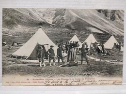 Manoeuvres Alpines. Les Chasseurs Au Camp Du Parpaillon - France