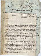 VP14.167 - Haute - Savoie - CLUSES 1793 - Lettre & Document Concernant La Chartreuse De Mélan à TANINGES - Manuscripts