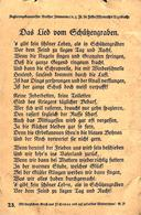 Schutzengraben Lied Chanson Militaire Carte De 1915 N°23 - Guerre 1914-18