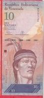 Venezuela 10 Bolivares Du 29/10/2013 ----UNC - Venezuela