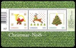 Canada (Scott No.2687 - Noël / 2013 / Christmas) (**) FS / SS - Blocs-feuillets