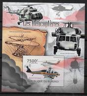 BURUNDI BF 210    * *  NON DENTELE  Helicopteres - Hélicoptères