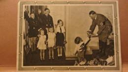 DR: GA P 278/04 Mit 6+19 Pfg Adolf Hitler Mit  Kindergruppe Zum Geburtstag Vom 29.6.42 Nach Radebeul - Briefe U. Dokumente