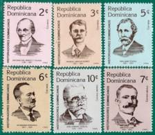 Rep. Dominicana. Dominican Republic. 1983. Scott # 881 / 86. Historiadores Dominicanos - República Dominicana