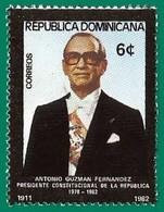 Rep. Dominicana. Dominican Republic. 1982. Scott # 865. Pres. Antonio Guzman Fernandez - República Dominicana
