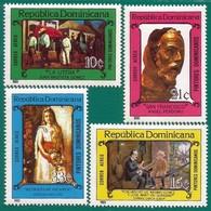 Rep. Dominicana. Dominican Republic. 1983. Scott # C393 / 96. Pintores Dominicanos - República Dominicana