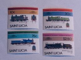 SAINTE-LUCIE  1985  LOT# 2  LOCOMOTIVE - St.Lucie (1979-...)