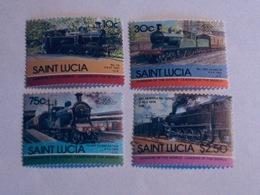 SAINTE-LUCIE  1985  LOT# 3  LOCOMOTIVE - St.Lucie (1979-...)