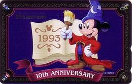 Télécarte Brillante NEUVE Japon / MF-1001664 - DISNEY DISNEYLAND - MICKEY * GRAND OPENING 1993 * - Japan MINT Phonecard - Disney