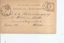 Hongrie ( EP De 1882 De Prezid Vers Vienne à Voir) - Hungary