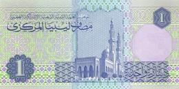 LIBYA P. 59a 1 D 1993 UNC - Libia