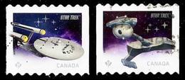 Canada (Scott No.2913-14 - Star Trek) (o) COIL - 1952-.... Règne D'Elizabeth II