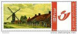 KORTEMARK (W.Vl.)  - Molen/moulin - Duostamp (2006) Persoonlijke Postzegel Met Schilderij Van De Koutermolen In 1916 - België