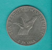 Tonga - 2 Pa'anga - 1979 - Humpback Whale / Decade Of Progress - KM61 - Tonga