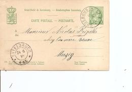 Luxembourg ( EP De 1899 De Grosbous Vers Merzig à Voir) - 1895 Adolphe Right-hand Side